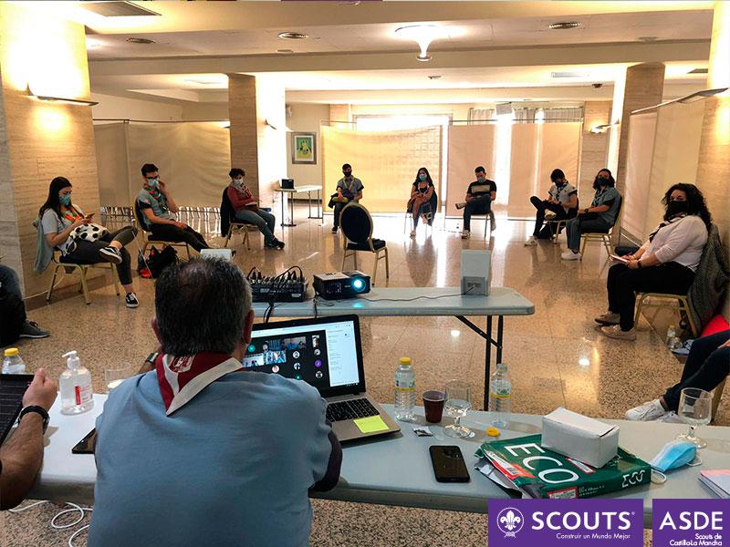 Asamblea mixta scouts